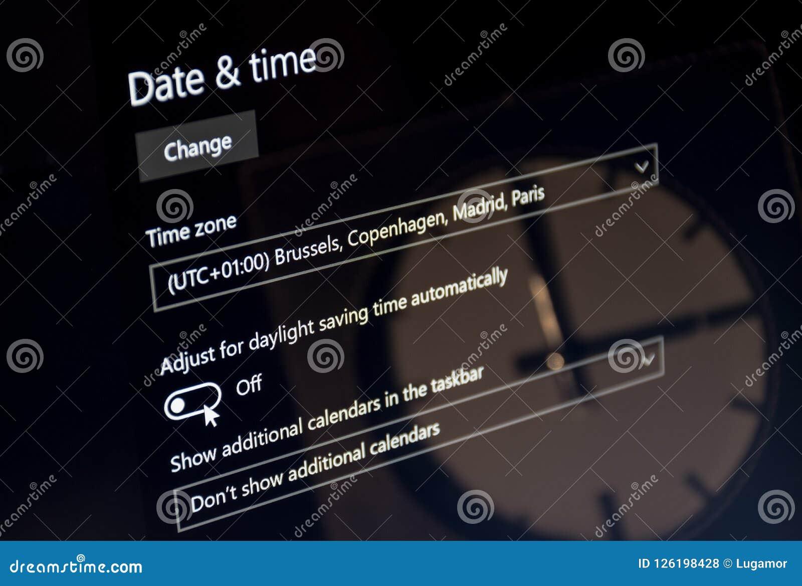 Utc Clock Download