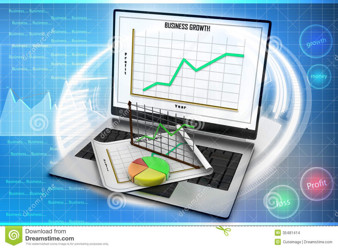 laptop showing a spreadsheet and a paper with statistic
