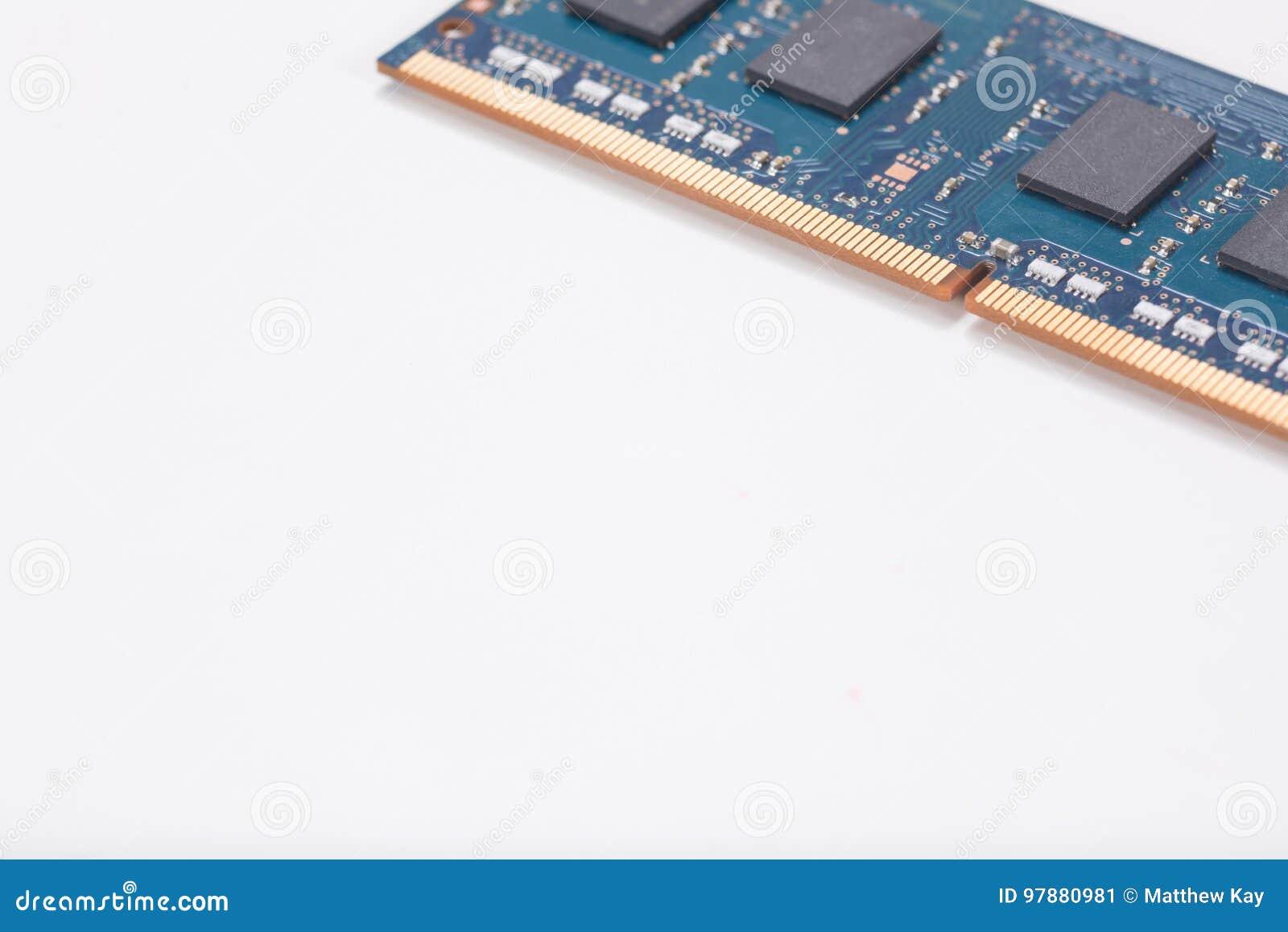 Laptop Speicherchip oder circuitboard