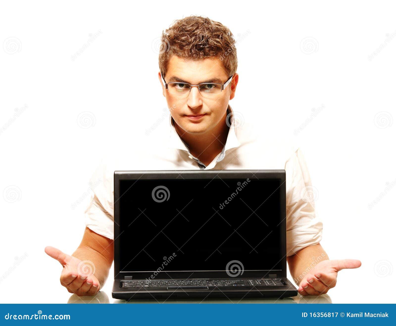 Laptop target1081_0_ pracowników potomstwa