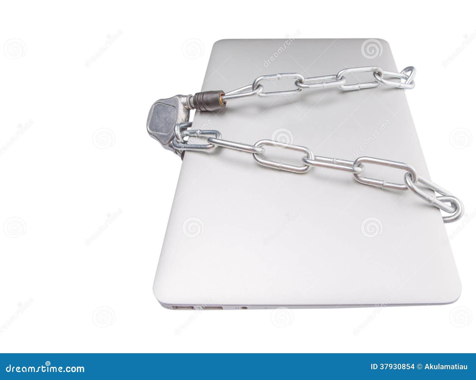 Laptop und Chain III