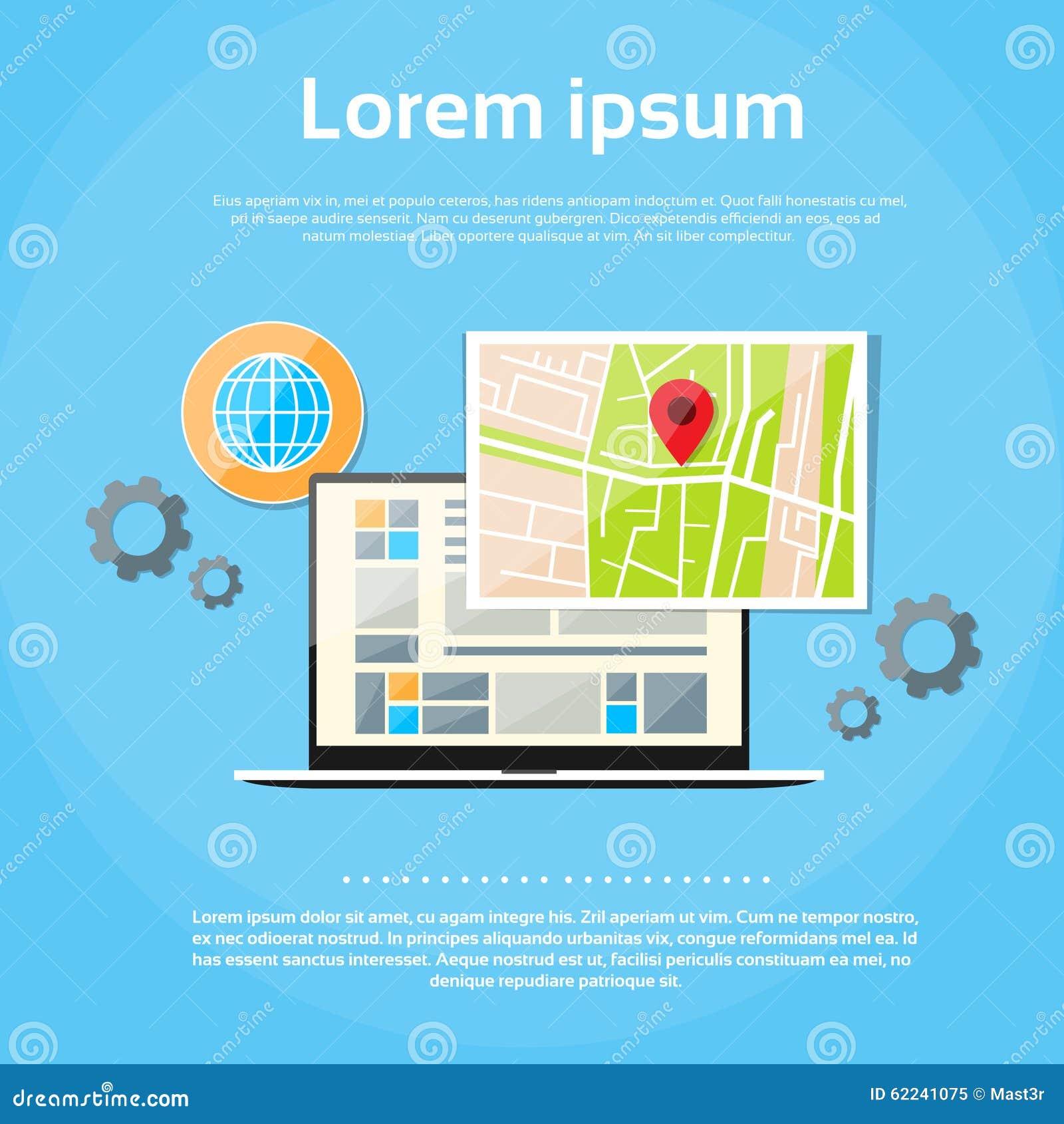 Laptop world map gps globe navigation stock vector illustration laptop world map gps globe navigation royalty free vector gumiabroncs Images