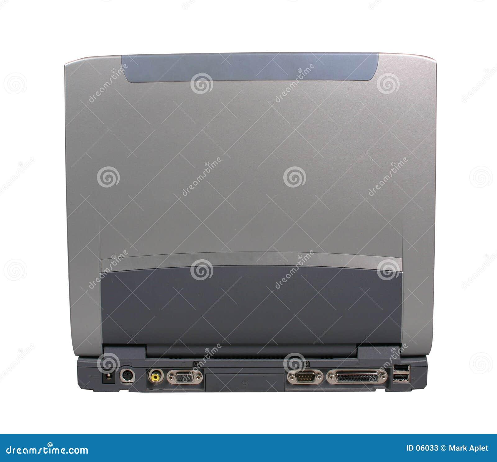 Laptop z powrotem