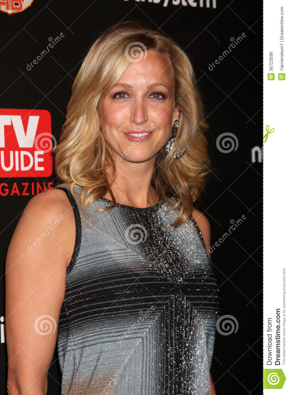 ... , Lara Spencer Arriving At The Tv Guide Magazine Seiest Stars Party