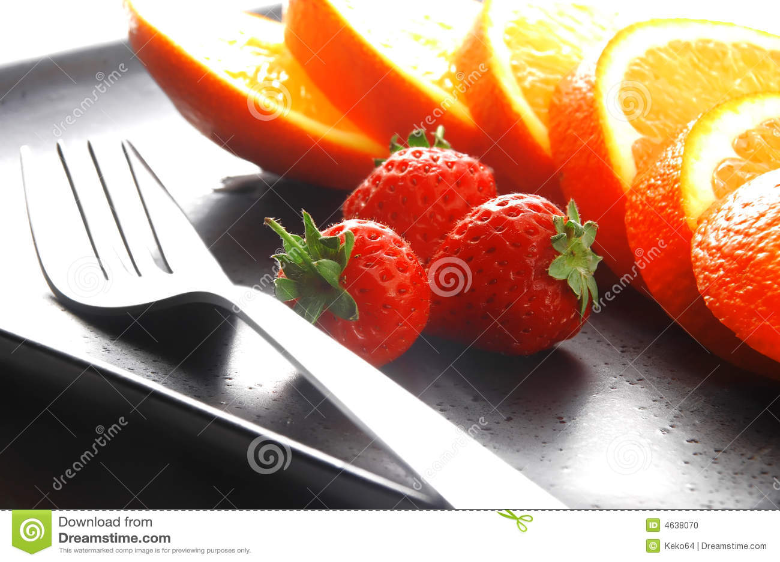 Laranja & morangos