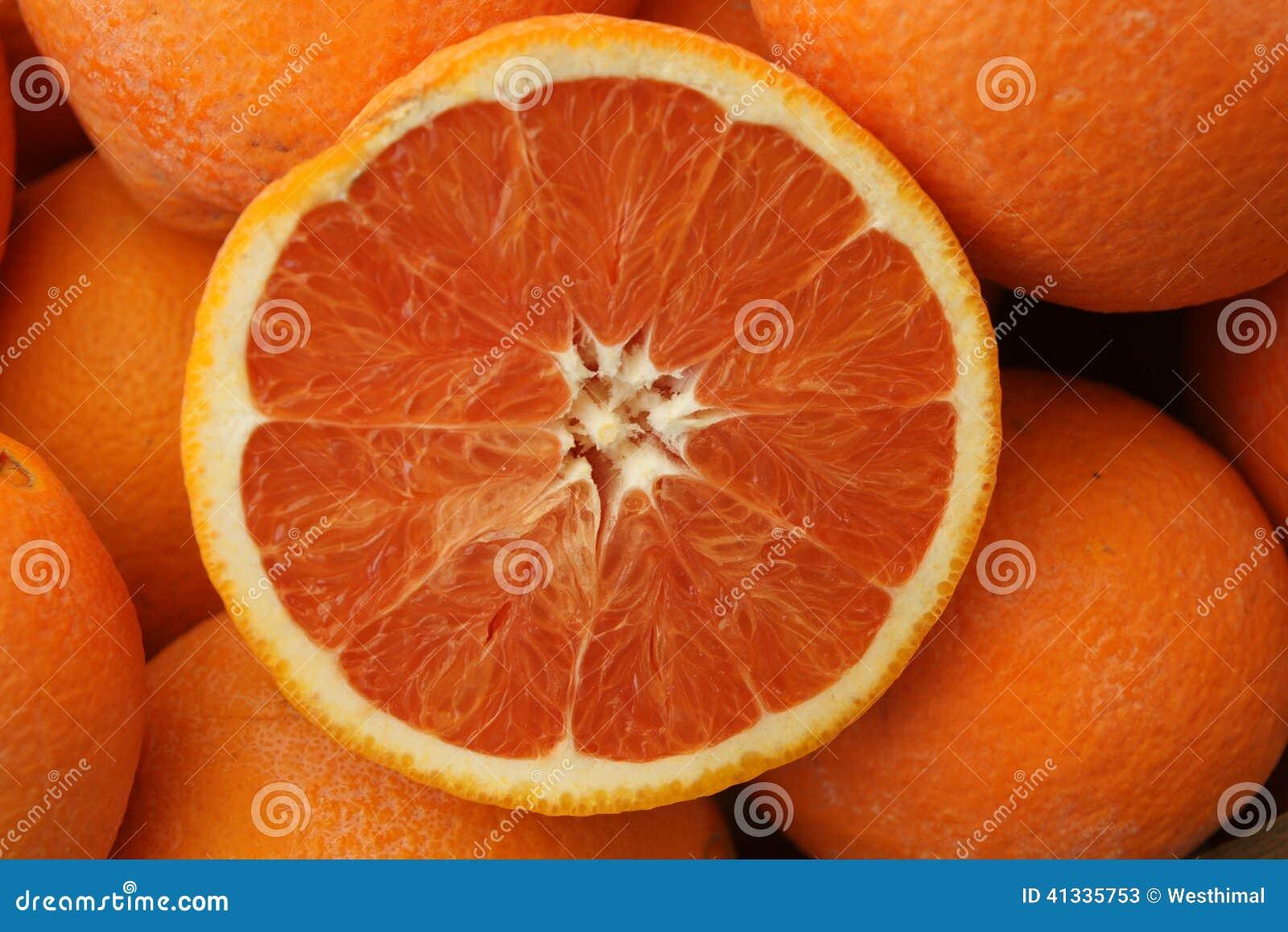 Laranja de Cara Cara, sinensis  Cara Cara  do citrino