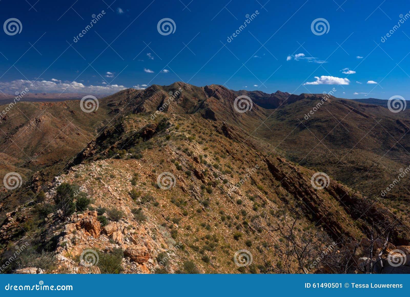 Larapinta Trail The Razorback Ridge West Macdonnell