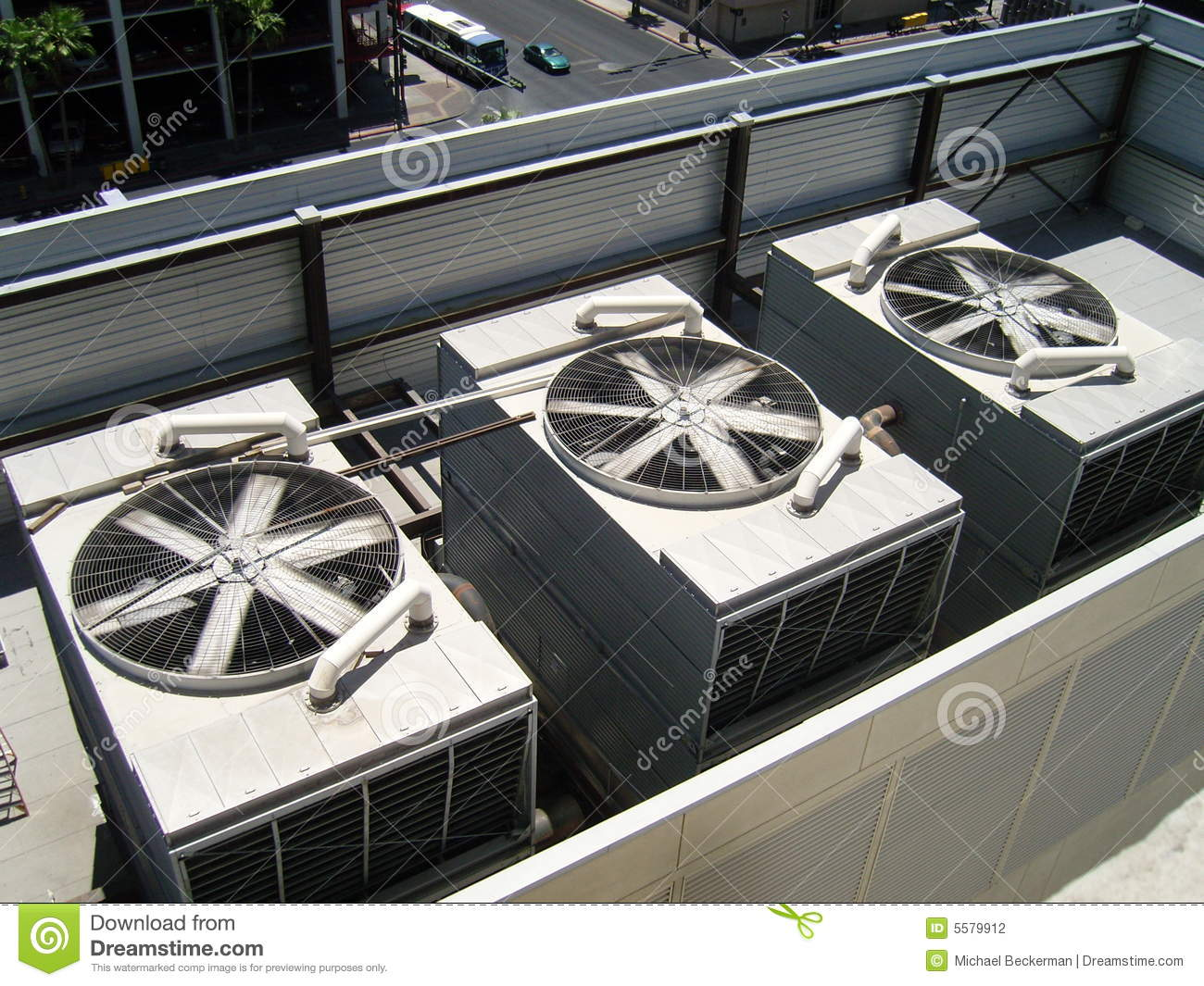 Large Ac Units Stock Photo Image Of Trade Electricity