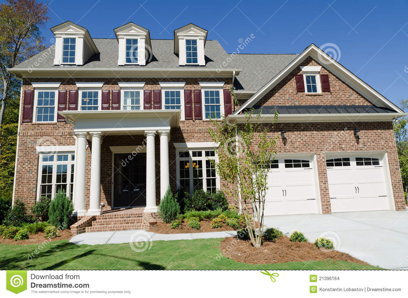 Large american house stock images image 21396164 for Big houses in america