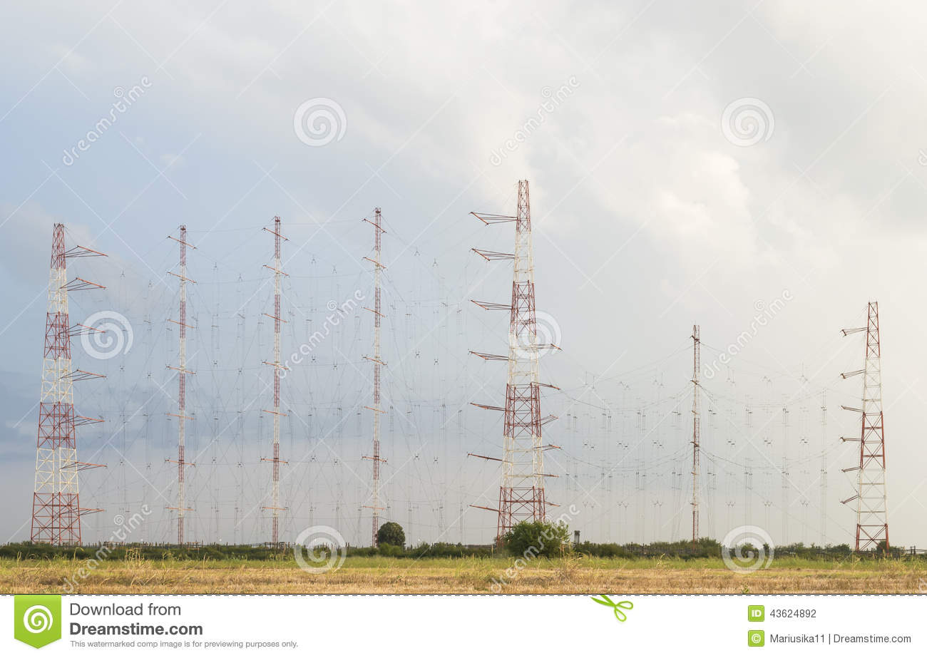 Large antennas array