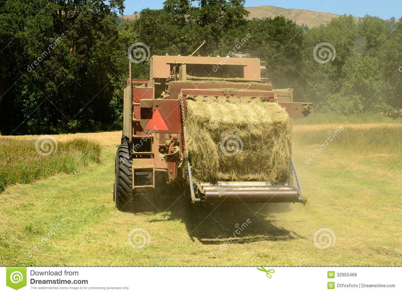 how to cut hay without a tractor