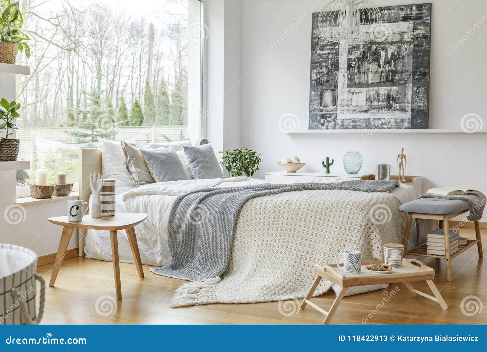 Cozy Bedroom Interior Stock Image Image Of Furniture 118422913