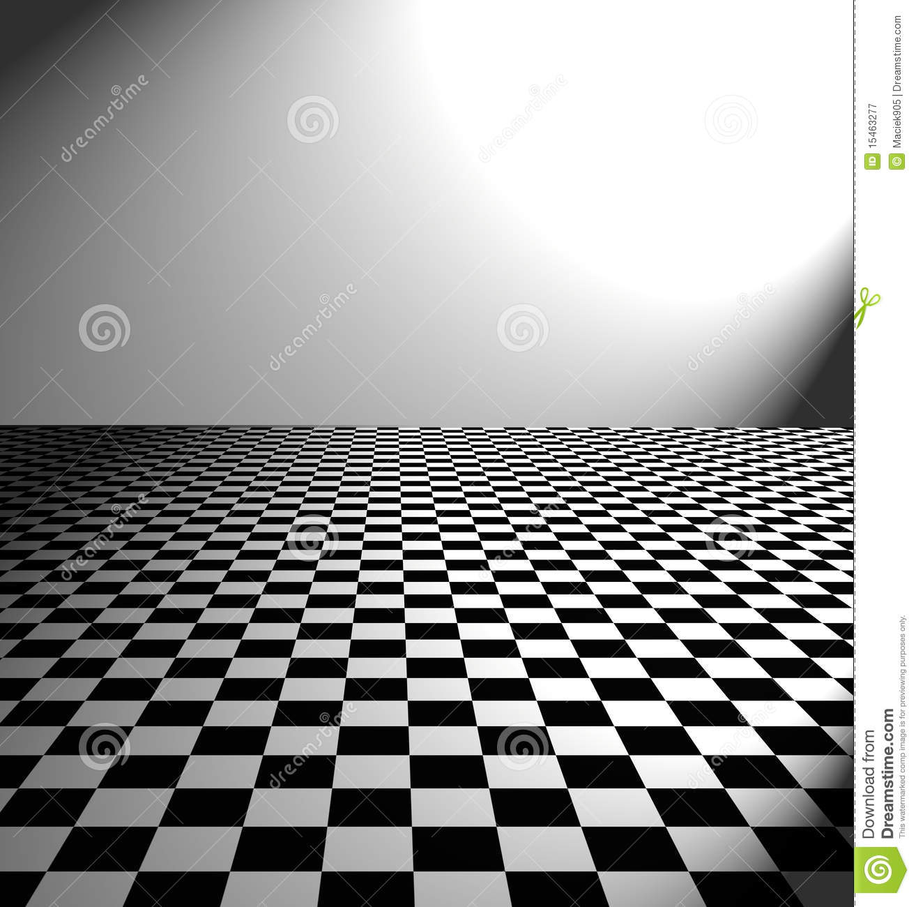 Large black and white checker floor stock illustration large black and white checker floor dailygadgetfo Choice Image