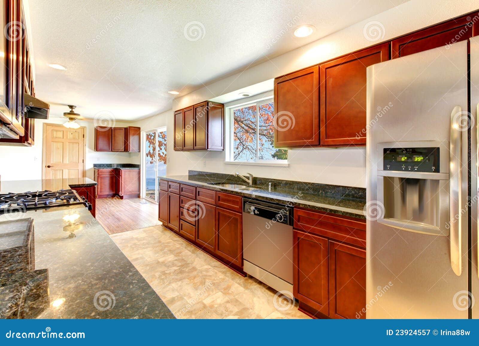 Дакота кухня фото в интерьере