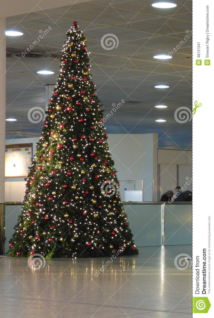 editorial stock photo download large christmas tree - Large Christmas Tree