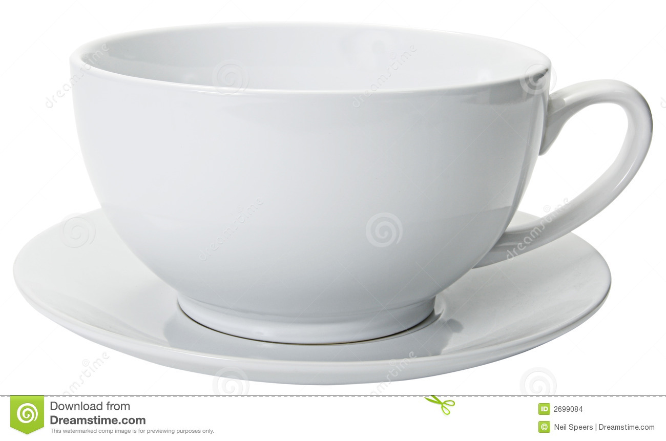 Large Coffee Cup Close Cropped Stock Photo Image 2699084