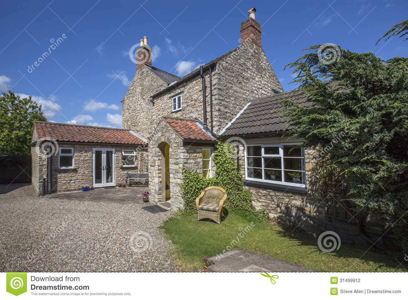 stock photography large country house yorkshire