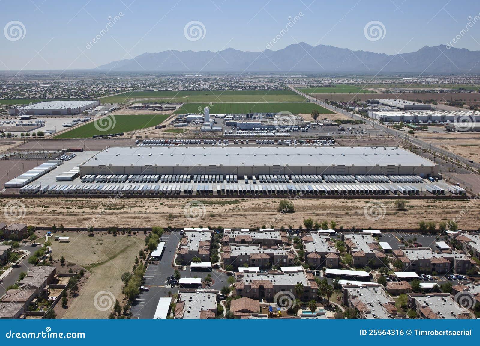Large Distribution Warehouse Stock Photo Image 25564316