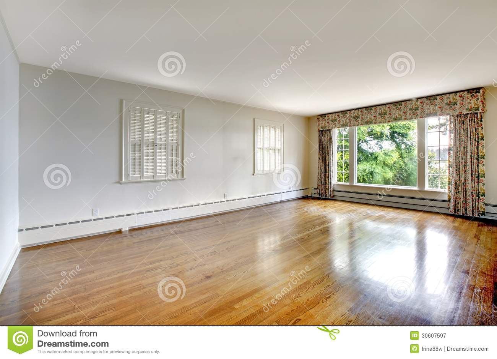 Large Elegant Luxury Historical Home Empty Bedroom