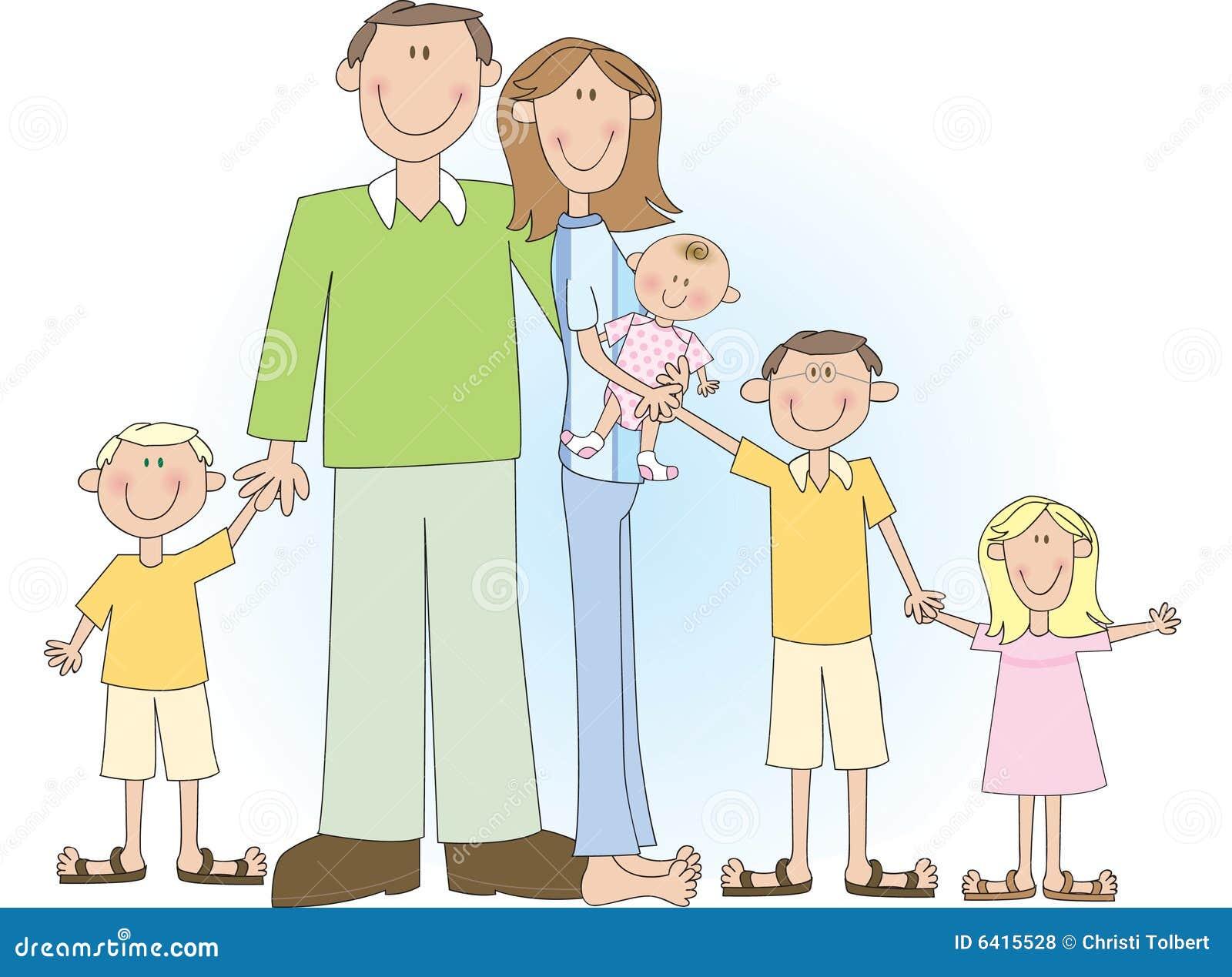 clipart big family - photo #18