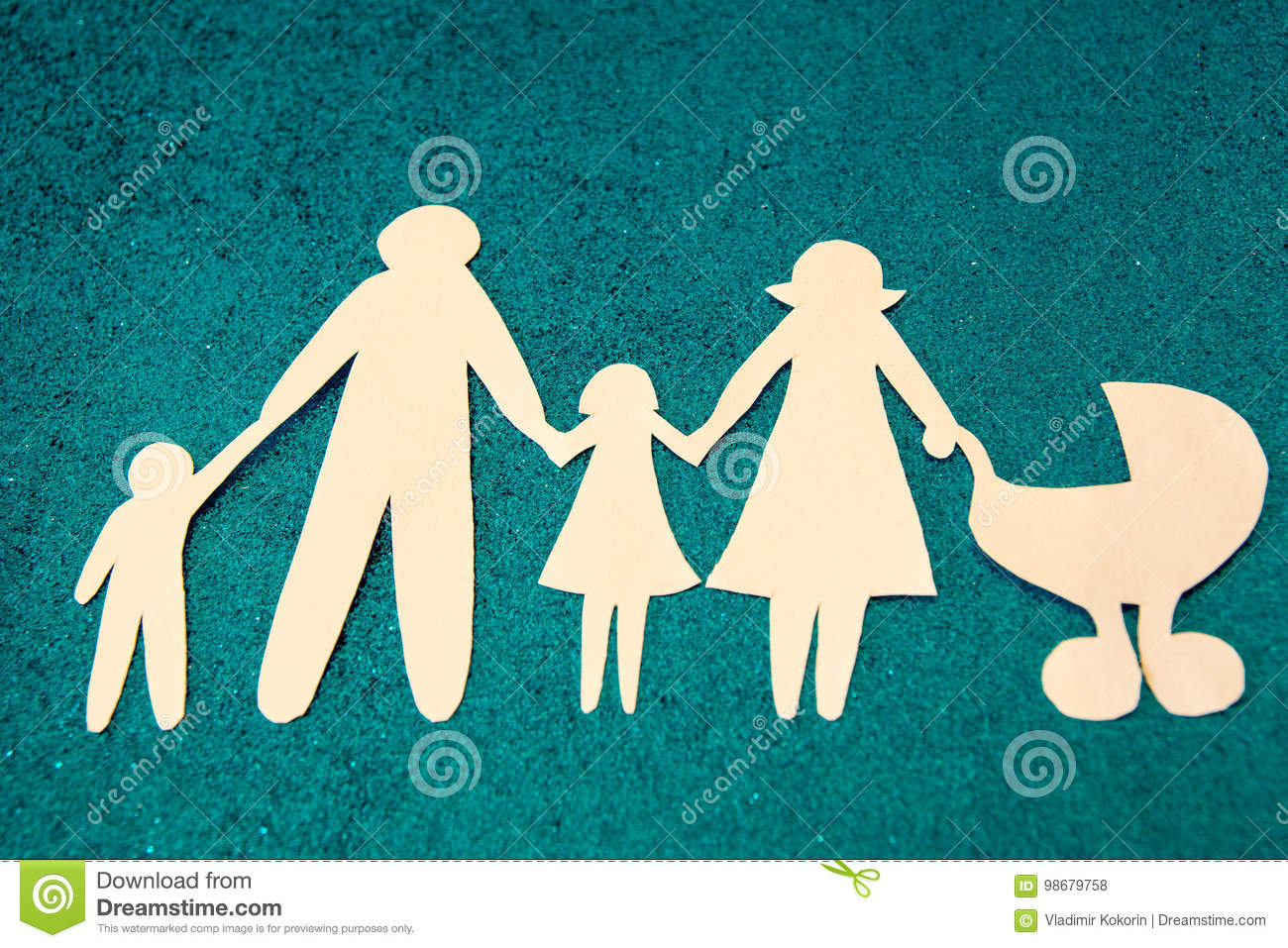 Large family. The adoption of children. Every child has the right to have a mother.