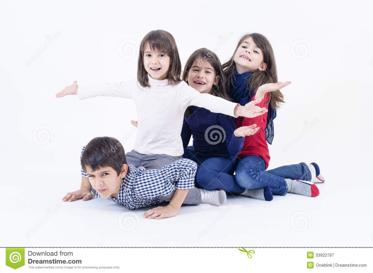 are large families happier