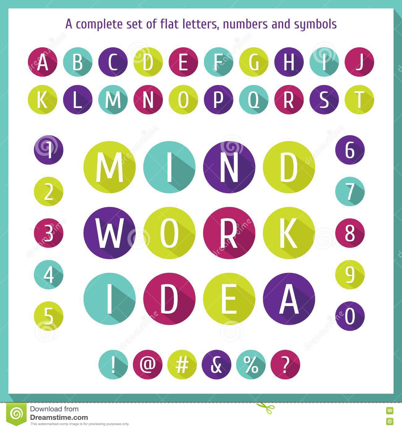 Print Large Letters And Numbers