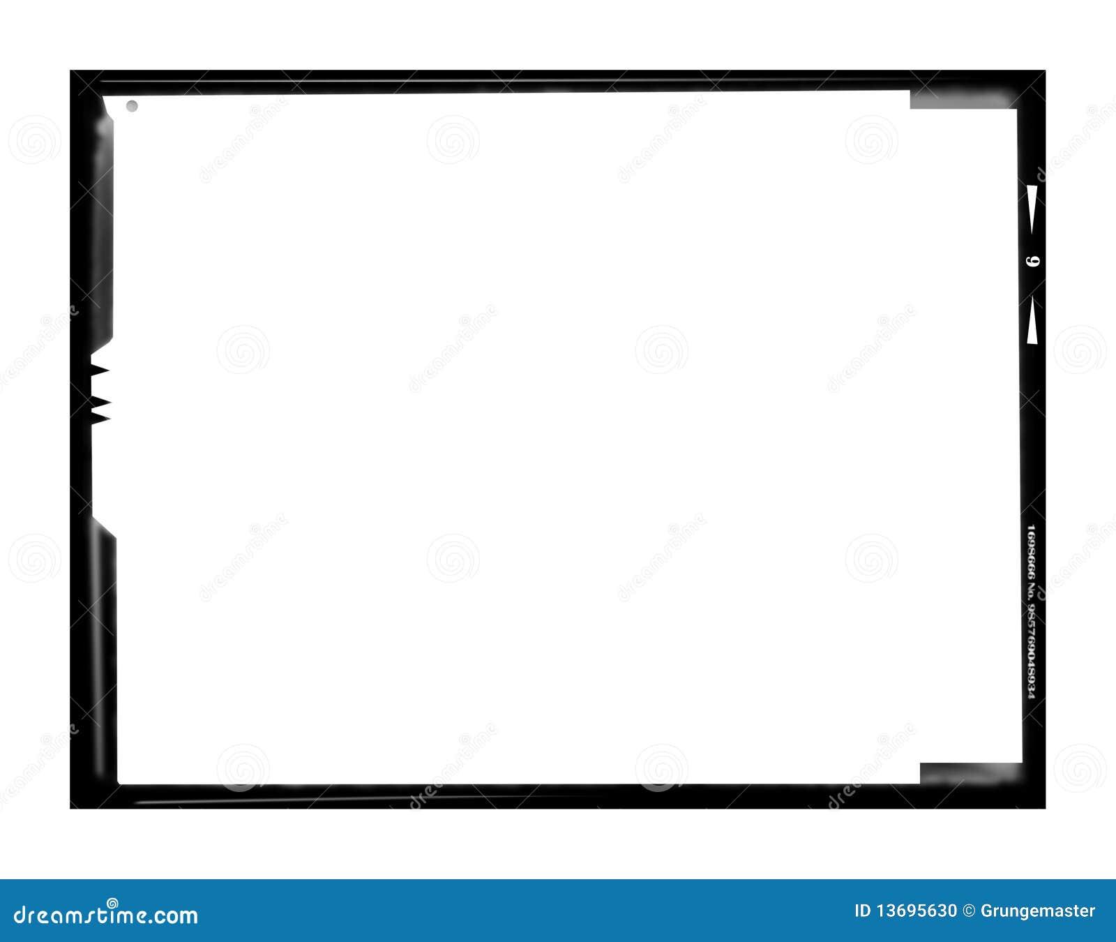 Large format negative picture frame