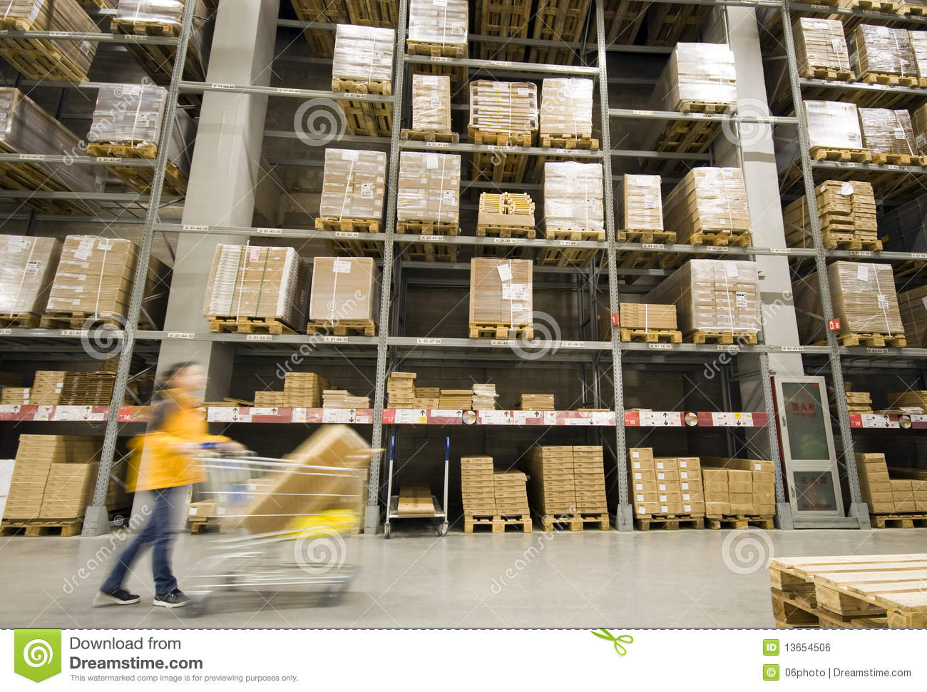 Large furniture warehouse royalty free stock image image for Furniture warehouse