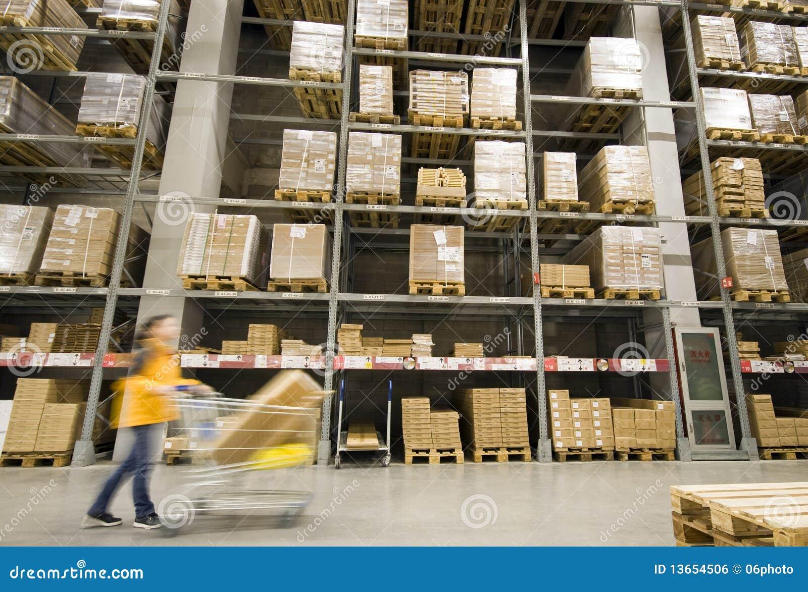 Furniture Warehouse Royalty Free Stock Image Image