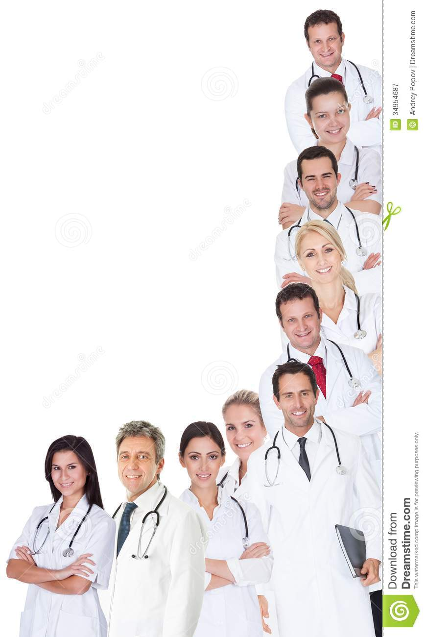 Group Of Doctors Clipart Large Group Of Doctors...
