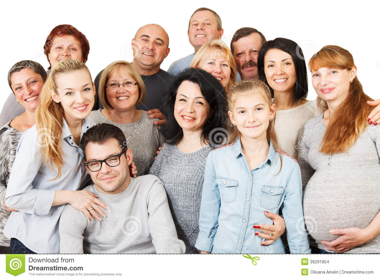 age mixed together diversity generation embracing smiling happy multi portrait standing familiale famille institution vita familia nza socios voor ssk