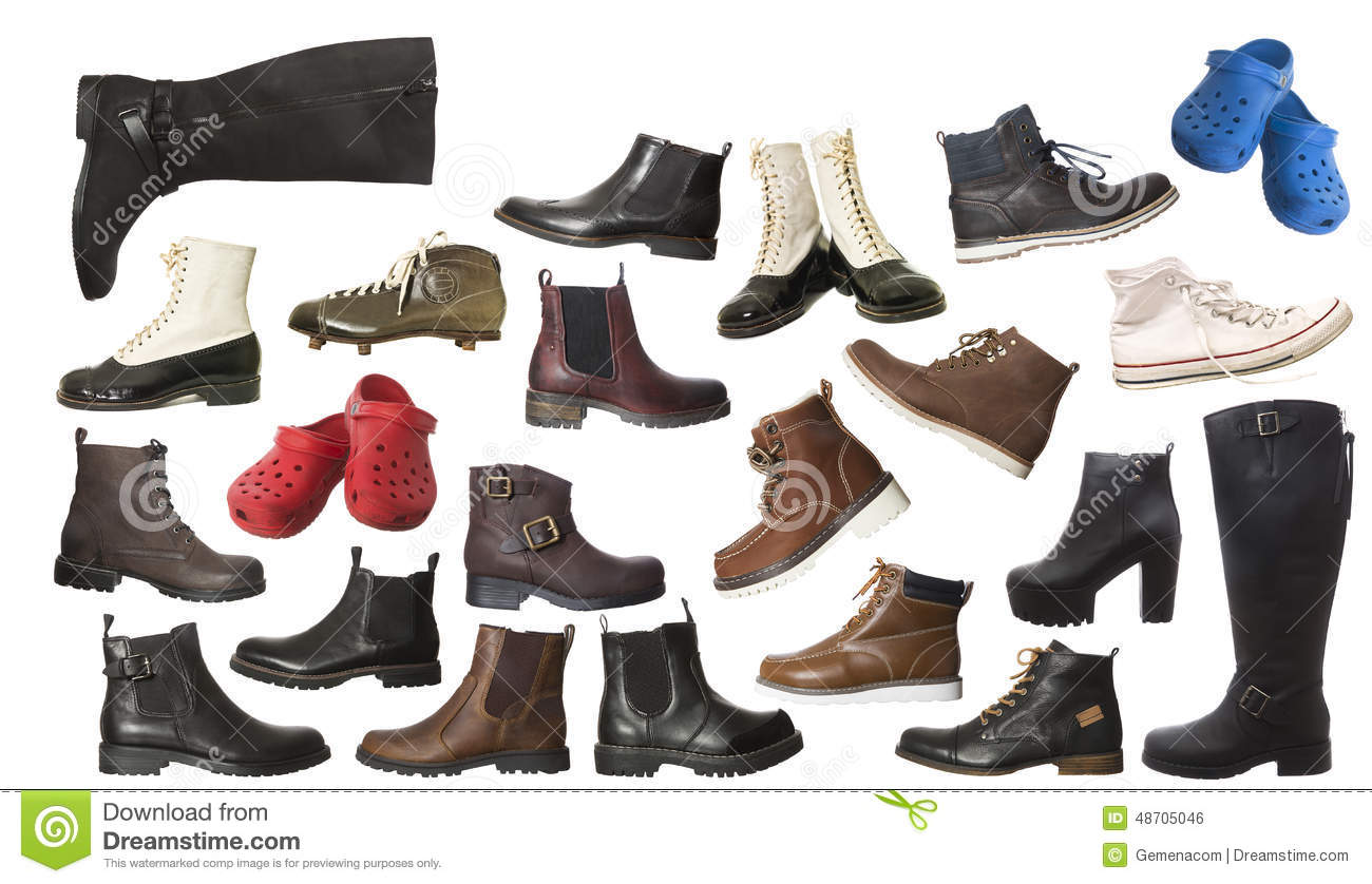 Group Of Shoes 53