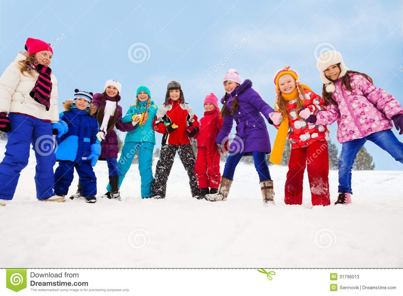 how to walk places with kids in winter
