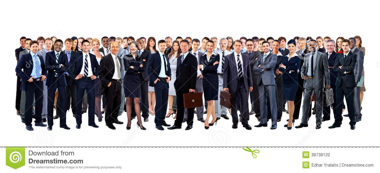 Large Group Of People Full Length Stock Photo - Image: 38738120