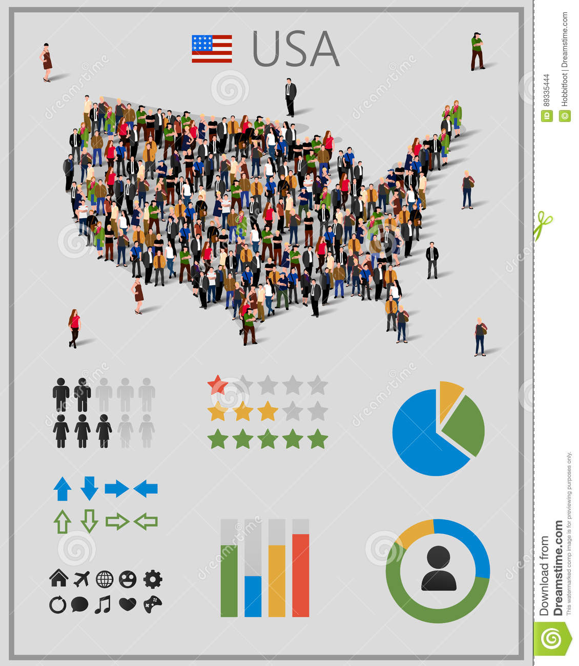 Large Group Of People In United States Of America Or USA Map ... on east coast map, great lakes map, nevada map, the us map, florida map, caribbean map, the world map, mississippi map, blank map, us state map, 13 colonies map, arkansas map, africa map, missouri map, europe map, canada map, mexico map, full size us map, tennessee map, texas map,