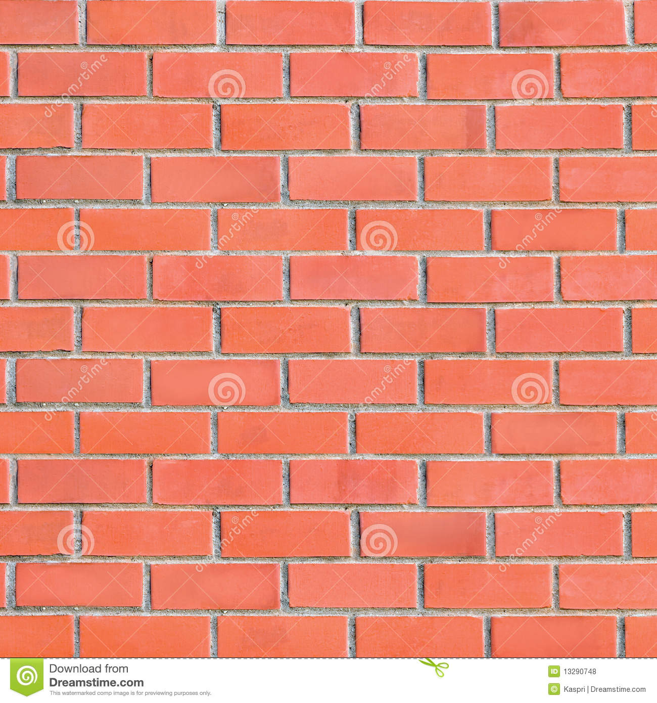 Large Grungy Red Brick Wall Background Royalty Free Stock