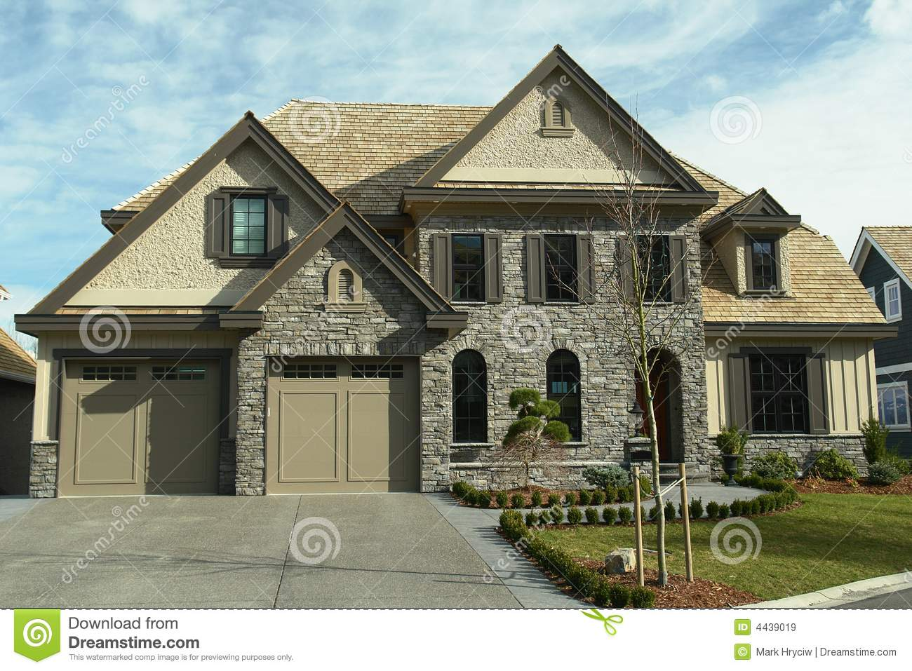 Large home house design bc royalty free stock images for Large home plans with pictures
