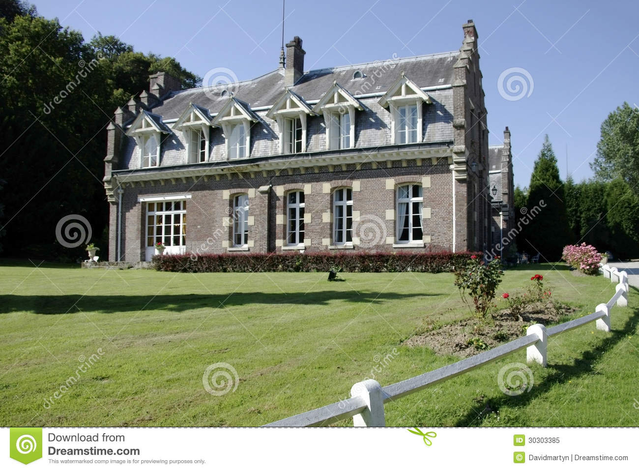 House royalty free stock photo image 30303385 for Design hotel normandie france