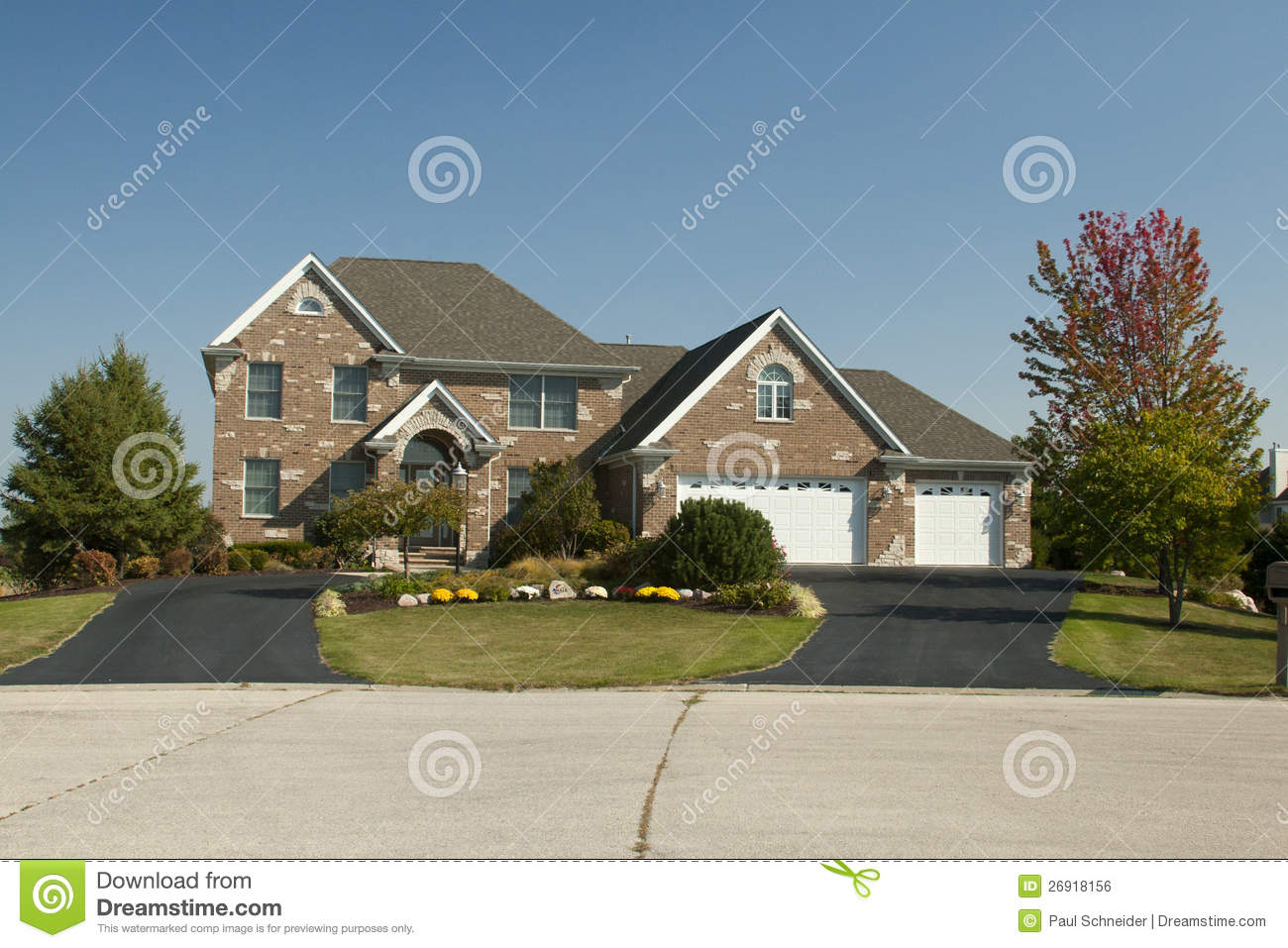 large house with three car garage royalty free stock image three car garage antiochian orthodox christian archdiocese