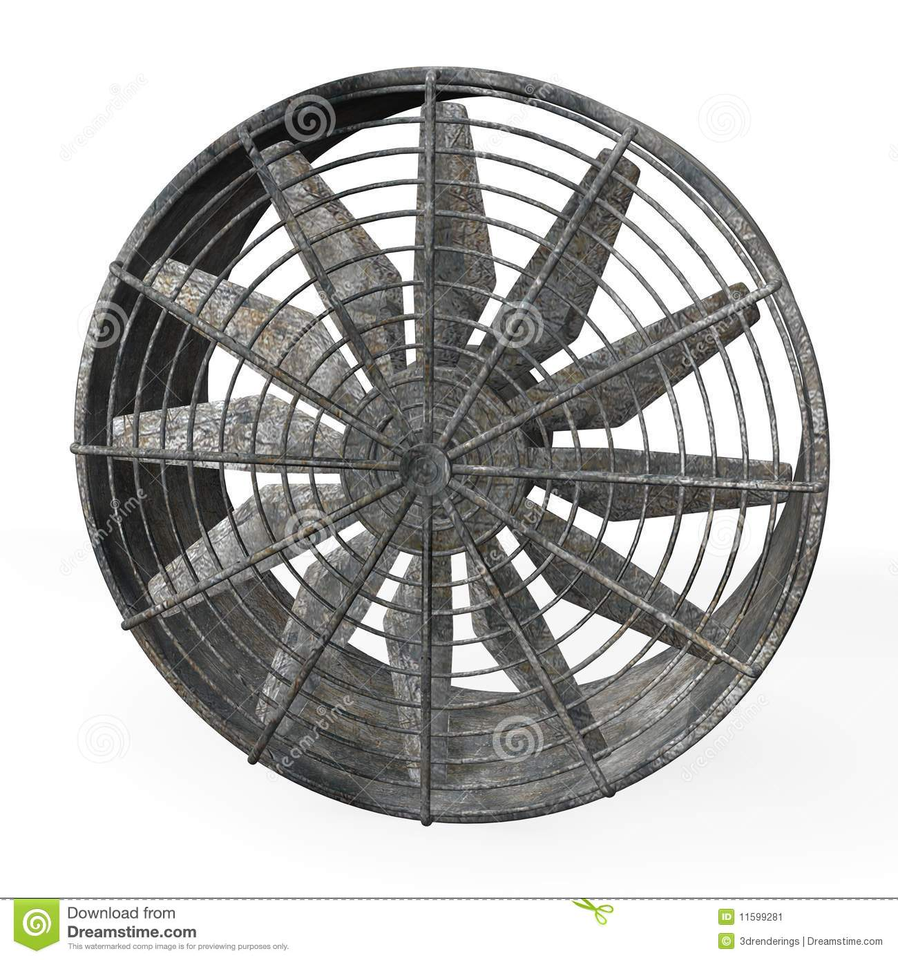 Big Fans Commercial : Large industrial fan stock illustration image of airfan