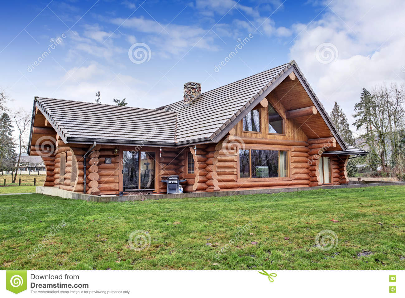 Astounding Big Log Cabin Homes Images Designs Dievoon
