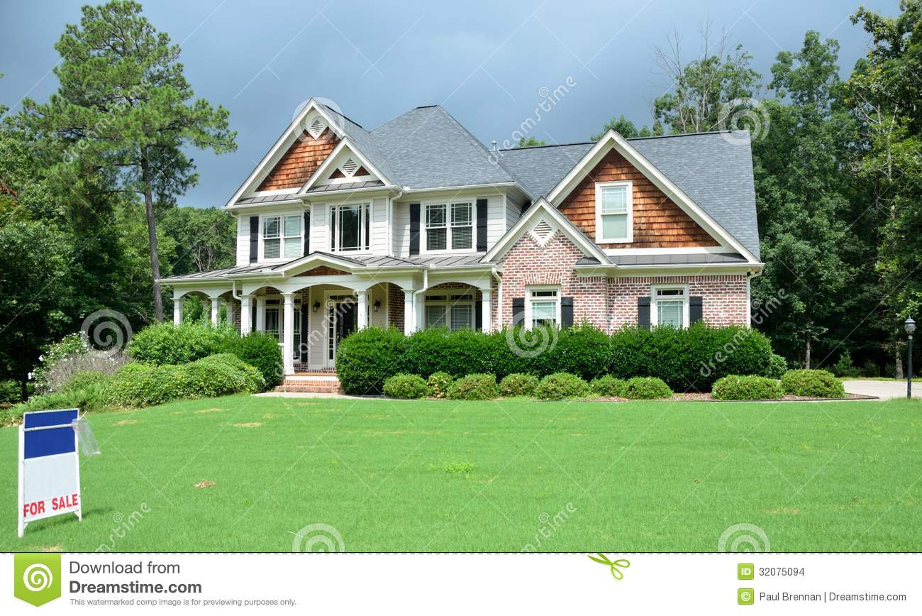 Large luxury home for sale stock images image 32075094 for Large luxury homes