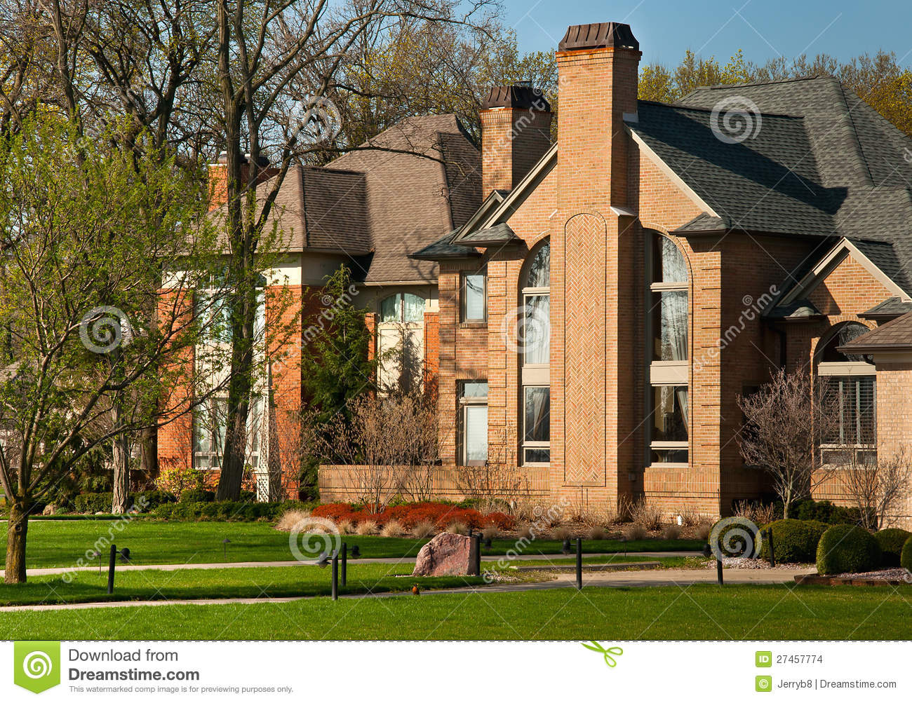 Large luxury homes stock photo image of rent home for Large luxury homes