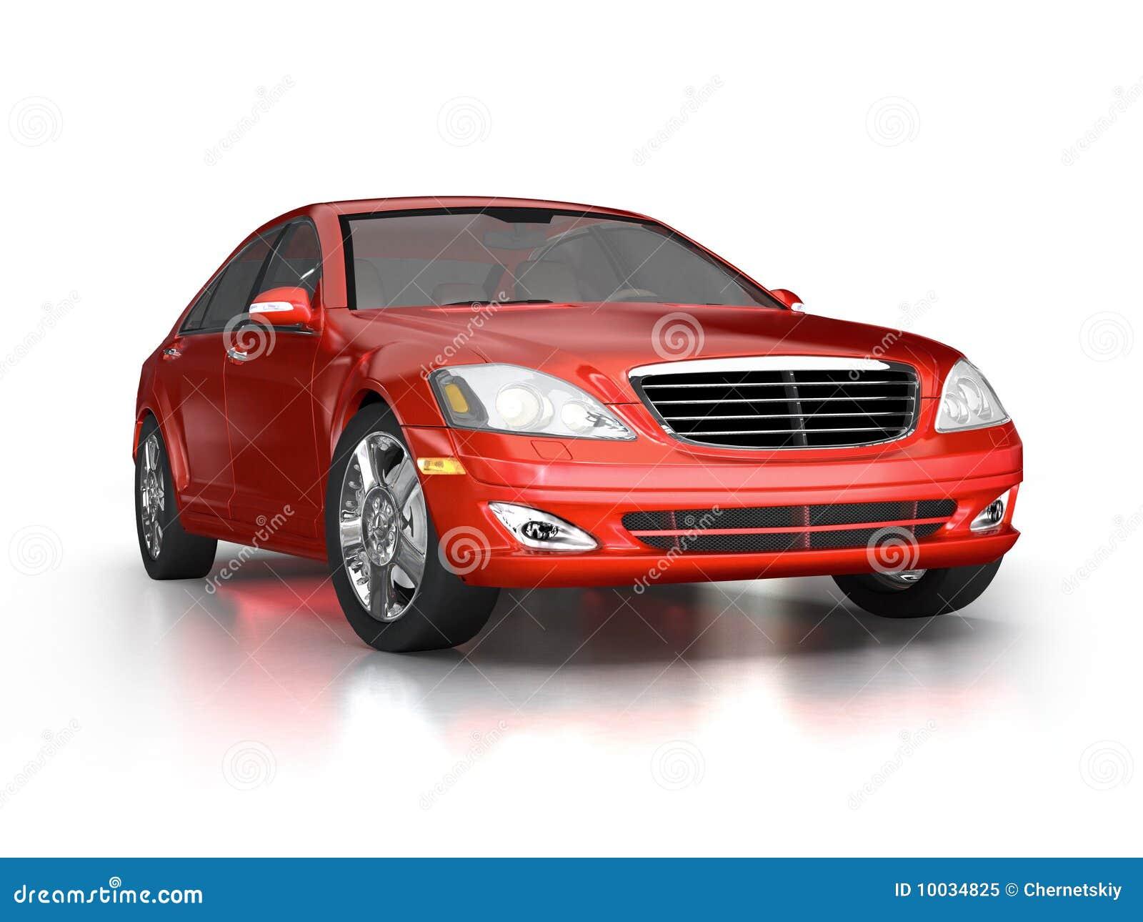 large luxury red car stock illustration image of concept. Black Bedroom Furniture Sets. Home Design Ideas