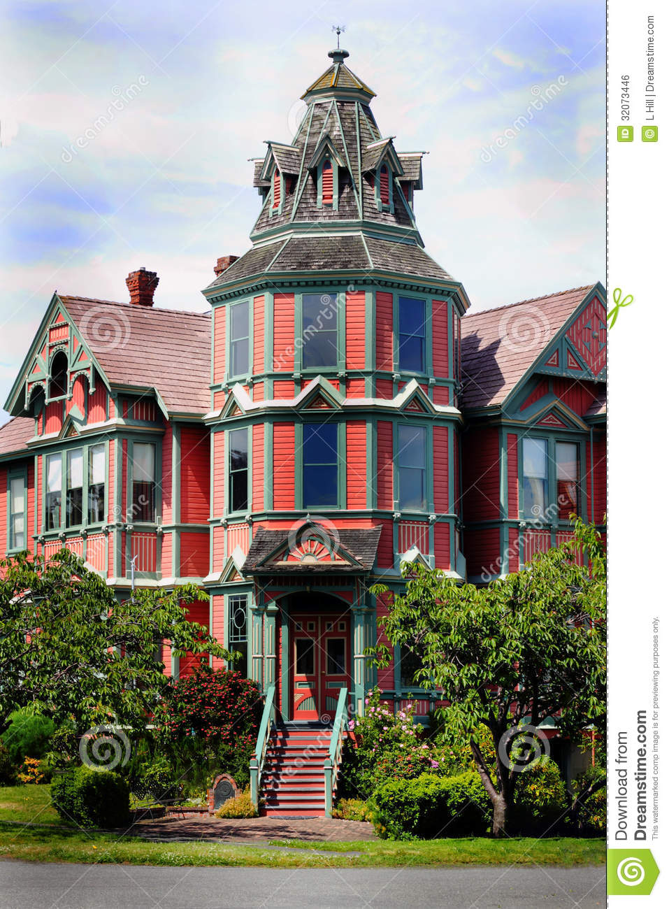 Large mansion royalty free stock image image 32073446 for House with lots of windows