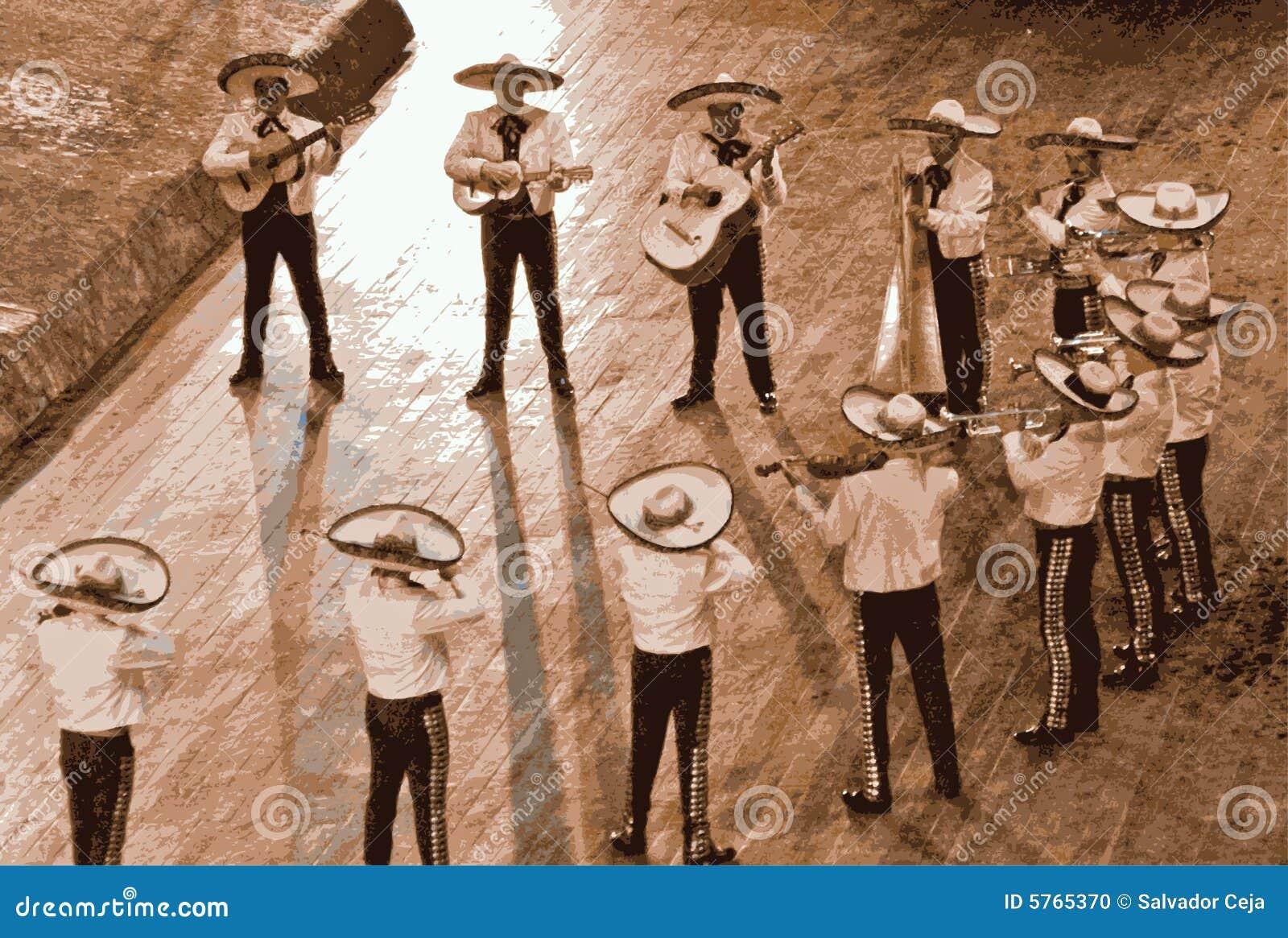 Large mariachi, mexico