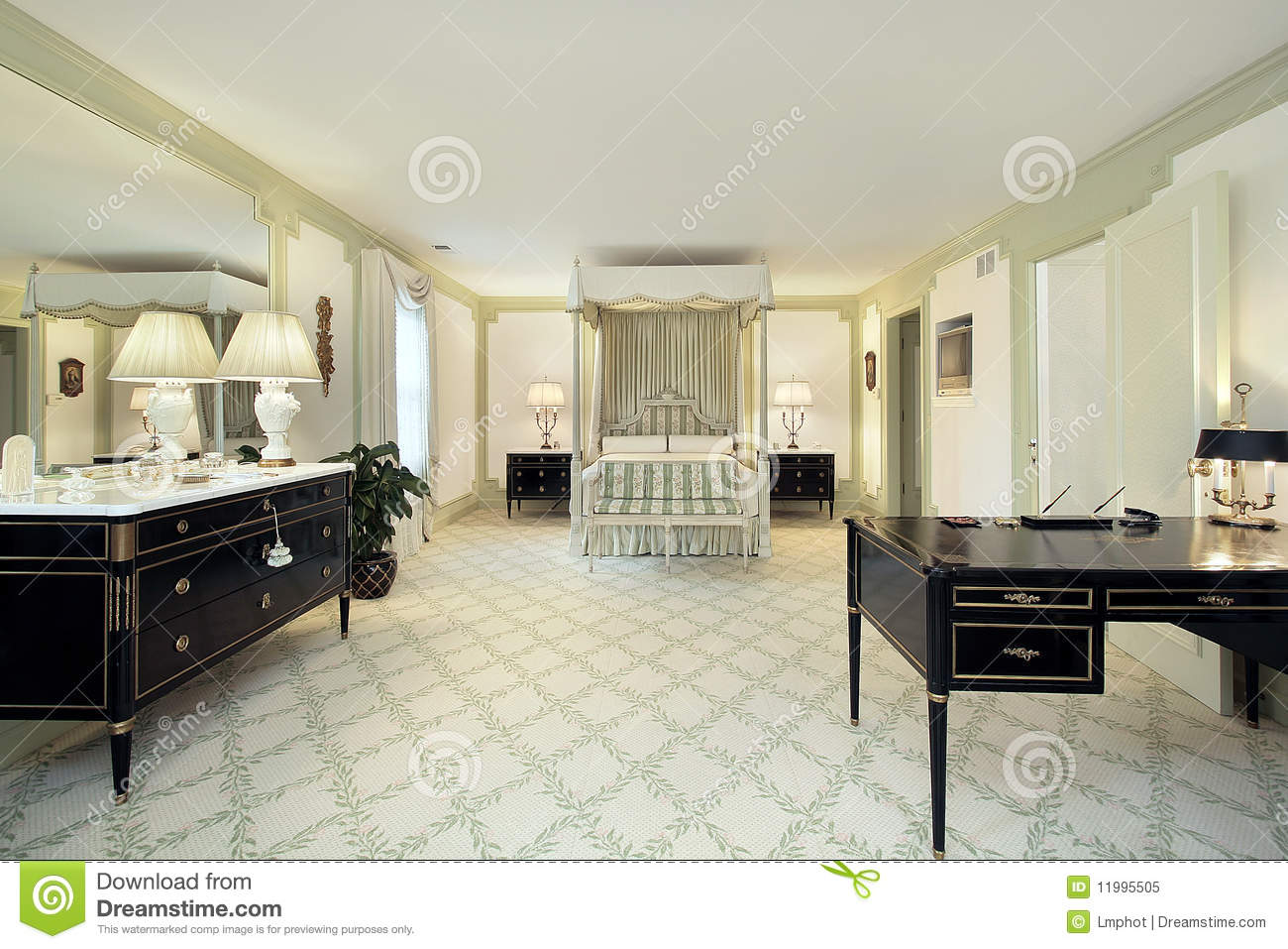 large master bedroom royalty free stock photo image 11995505