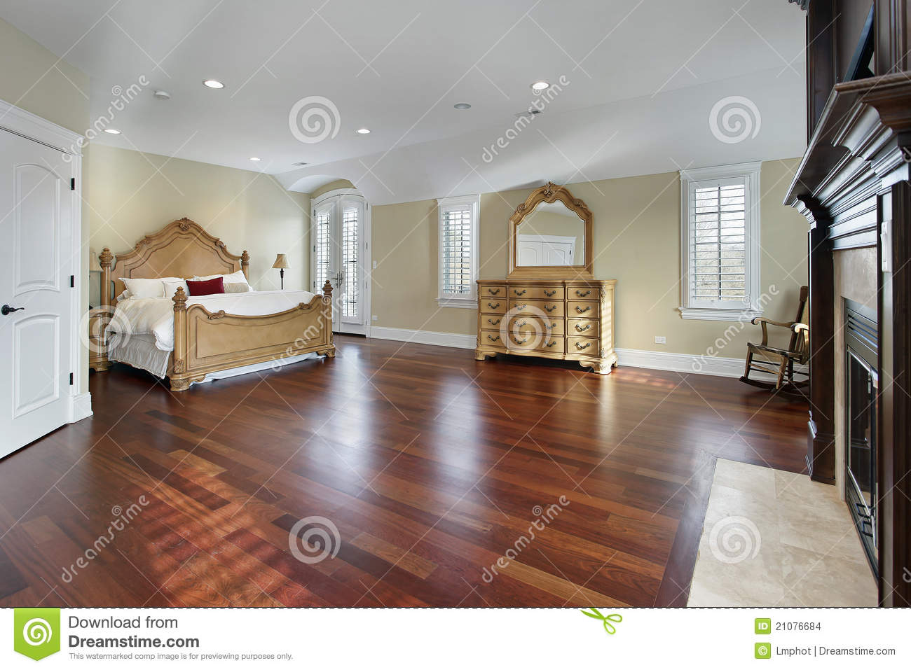 large master bedroom stock images image 21076684