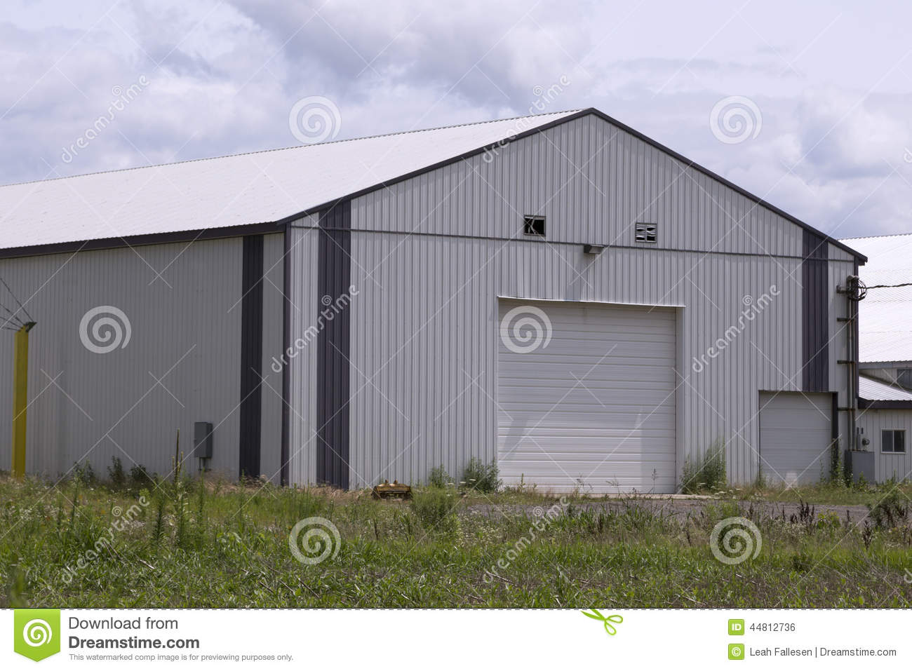 Large modern barn stock photo image of store image for Large pole barn